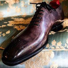 mens_fashion - Formal Alligator Business Dress Shoes for Men Ascot Shoes, Mens Shoes Boots, Men's Shoes, Shoe Boots, Mens Italian Dress Shoes, Italian Shoes For Men, Gentleman Shoes, Dream Shoes, Luxury Shoes