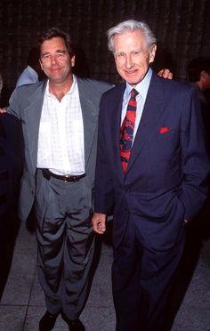 Lloyd Bridges with the older son, an actor Beau Bridges. 12 June 1996 His younger son, Jeff Bridges, is also an actor.