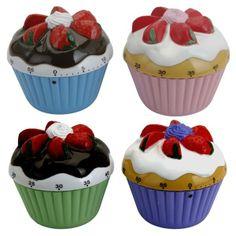 Minutnik muffinka - piękna dekoracja i praktyczny pomocnik w kuchni