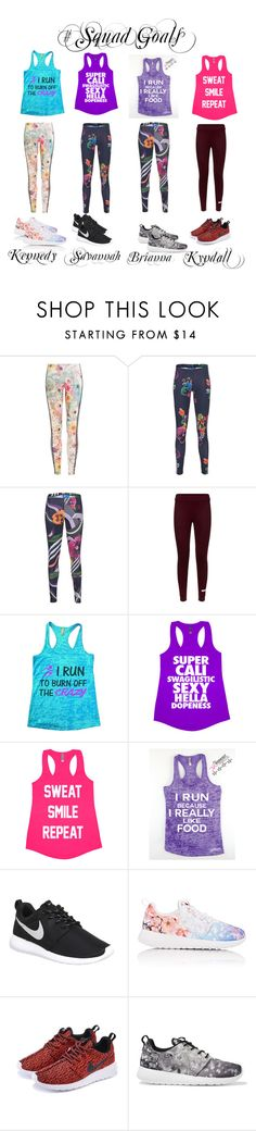 """""""Squad on FLEEK"""" by urqveen123 ❤ liked on Polyvore featuring beauty, adidas Originals, adidas and NIKE"""