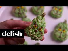 Grinch Kranky Treats Recipe - Easy Grinch Rice Krispies - Delish.com