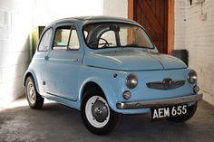 Steyr-Puch 500 (Austria, built under license from Fiat with Steyr mechanics) Fiat Cinquecento, Fiat 500c, Fiat Abarth, Classic Car Show, Best Classic Cars, Steyr, Maserati, Ferrari, 1960s Cars
