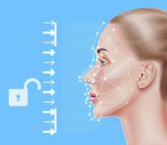 Buy Vector Face Recognition Biometric Scanning of Girl by Iwhitewings on GraphicRiver. Biometric face scanning of realistic beautiful girl. Biometric Authentication, Vector Graphics, Vector Art, Design Tech, Graphic Design, Facial Recognition, Kids Education, Vector Design, Dental