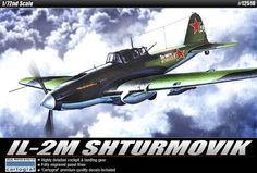 Academy ACA 12510 Il-2M Shturmovik 1/72