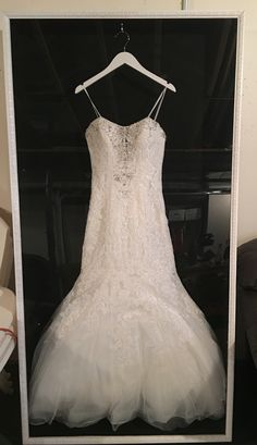 shadow box for your wedding dress