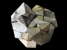 timescape morphs geometric sculptures with nature