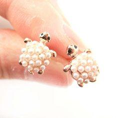 Turtle Earrings! Want want  5$