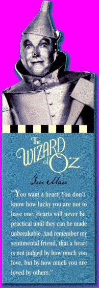 Movie Bookmarks: Wizard of Oz