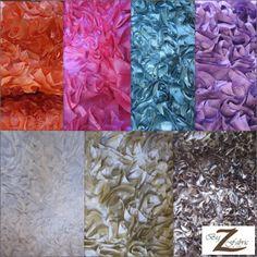 Big Z fabric  Ruffle Style Taffeta Fabric