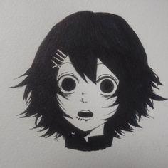 Anime Drawings Sketches, Anime Sketch, Art Drawings, Juuzou Tokyo Ghoul, Juuzou Suzuya, Anime Chibi, Anime Manga, Anime Funny Moments, Animated Love Images
