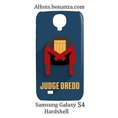 Judge Dredd Superhero Samsung Galaxy S4 S IV Hardshell Case