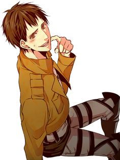 Bertholdt Hoover. Attack on titan.