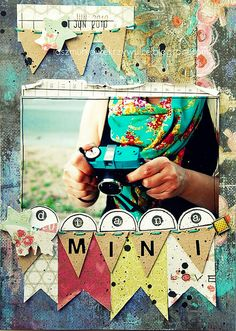 Have you tried using paper bunting on your layouts yet?