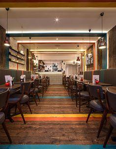 Restaurant Bar, Restaurant Concept, Modern Restaurant, Bar Design Awards, Notting Hill, Gourmet Burger Kitchen, Gourmet Burgers, Bar Interior, Restaurant Interior Design