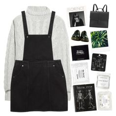 """✨just take the pain✨"" by grunge-alien ❤ liked on Polyvore featuring Bamford, Monki, Danielle Foster, KEEP ME, Dr. Martens, Topshop, Herbivore and grungestopset"