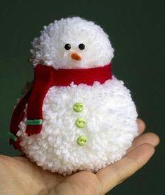 Nunca más aburrido: Como hacer pompones para crear adornos navideños
