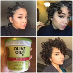Bantu Knot Process | Done on air dried natural hair the next day with curls brushed out. Click to see full details!