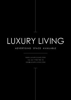 Welcome to issue 5 of the Luxury Living Magazine where we showcase the latest news, trends and topics for property, lifestyle, travel and many things more. Luxury Graphic Design, Advertising Space, Living Magazine, Editorial Layout, Luxury Living, Cover Design, Design Inspiration, Social Media, Slim