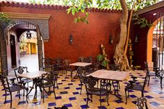 Open air restaurant - Restaurante al aire libre