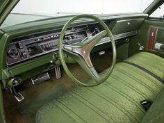 1973 Chrysler Newport Sedan, interior