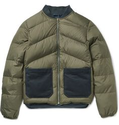 Reversible Quilted Shell Down Bomber Jacket | MR PORTER