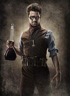 Steampunk Scientist
