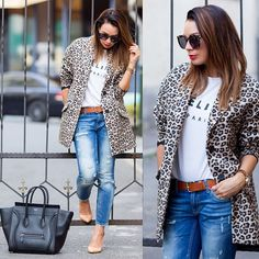 .@Mariann Mező | Today's outfit #ootd #touchofleo | Webstagram - the best Instagram viewer