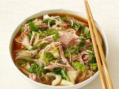 Slow-Cooker Pork With Noodles