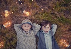 Boys & fireflies. By Wild Flower Photos