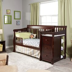 Awesome Tuscany Crib And Changer - http://home.gerphoto.com/3408-tuscany-crib-and-changer/ : #BedroomDesigns Awesome Tuscany Crib And Changer is a classy, fashionable designed crib product of stable, sturdy building with recessed hardware in your kid's security. It may be used as crib, daybed, toddler mattress or full-measurement mattress utilizing non-compulsory wood conversion rails. Tuscany...