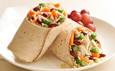 Chicken Rice & Bean Wrap  #unclebensrecipes