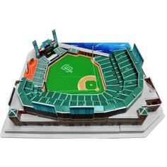 NOW YOU CAN BRING HOME YOUR VERY OWN MLB BALLPARK. SHOW YOUR FAN SUPPORT WITH THE ATT PARK 3D PUZZLE