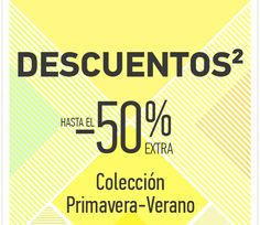 Descuentos²: hasta el -50% EXTRA en la colección Primavera-Verano y -12% por cumple http://www.expotienda.com/index.asp?categoria=10=147