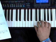 Toetsenbord en notenbalk bladmuziek is eigenlijk een boek for Strumento online gratuito piano piano