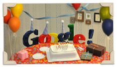 Play the 2015 Global Candy Cup Halloween Game! Happy Birthday Google, Happy 19th Birthday, Google Doodles, Jim Henson, 13th Anniversary, Time To Celebrate, New Tricks, Art Google, Google Icons