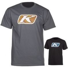 099a2e784f420 Klim Icon Line Art Mens Crew Neck Shirts Tops Tees Guys Short Sleeve  T-Shirts