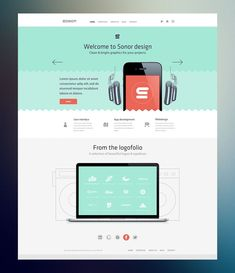 Sonor design (Flat UI)