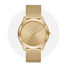Michael Kors Slim Runway Gold Mk8625 Michael Kors Watch, Gold Watch, Runway, Slim, Watches, Accessories, Cat Walk, Walkway, Wristwatches