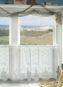 Lighthouse Lace Curtains #home #decor #curtains http://decoratingwithlaceoutlet.com/Lighthouse_Lace_Curtains.asp