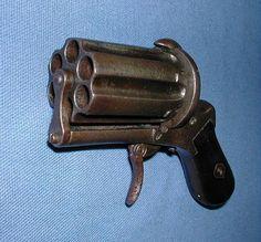 Rare Antiques for Sale | ... Knuckle Duster Pepperbox Rare Antique NR For Sale at GunAuction.com