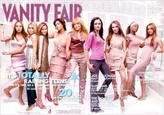 Evan Rachel Wood recalled what it was like to cover Vanity Fair's 2003 Young Hollywood issue with stars including Lindsay Lohan, Hilary Duff, Amanda Bynes, and Mary-Kate and Ashley Olsen, telling a fan on Twitter she
