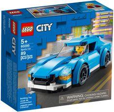 Lego City, Free Lego, Lego Builder, Black Rims, City Car, Lego Pieces, Building Toys, Sport Cars, Cool Cars