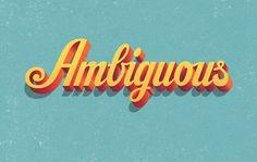 Ambiguous | Matt Redway