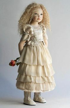 Celestyna- zawieruszynski orignial porcelain.  This is the most beautiful doll I've ever seen.  LOVE Her!  found out she's ltd edition of 11 and her retail price tag is $4900!!!  In my dreams!