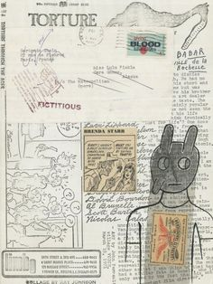 Ray Johnson mail art