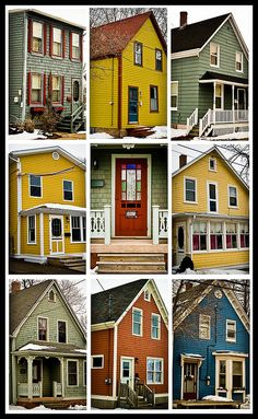 'home is where the heart is'. Charlottetown, PEI, Canada by Stella Kimbit