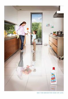 Colgate-Palmolive Ajax Household Cleaner: Flower | Ads of the World™