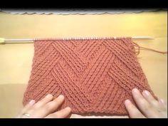 knit Fantastic pattern with Rectangle ... جديد .. لمحبى التريكو المستطيل...