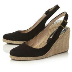 Pied a Terre - Espadrilles à talons compensés Imperia | Boutique en ligne Dune Shoes
