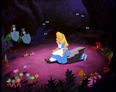 Alice in Wonderland, I give myself very good advice, but I very seldom follow it.